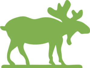 green moose clip art at clker com vector clip art online royalty rh clker com moose head clipart free moose clipart free