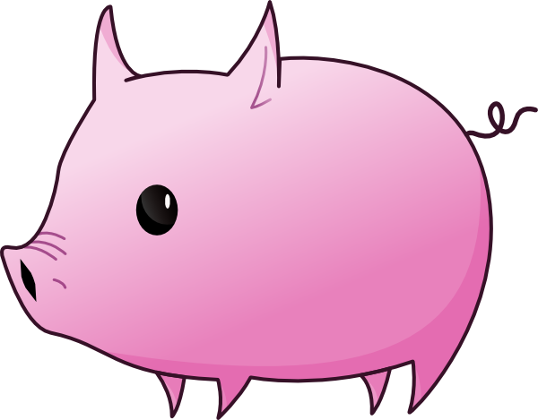 Clip Art Piglet Clipart pink piglet clip art at clker com vector online download this image as