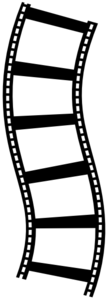 Film Strip One Clip Art
