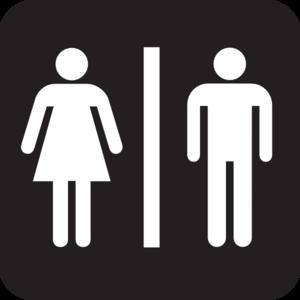 Men Women Bathroom Signs