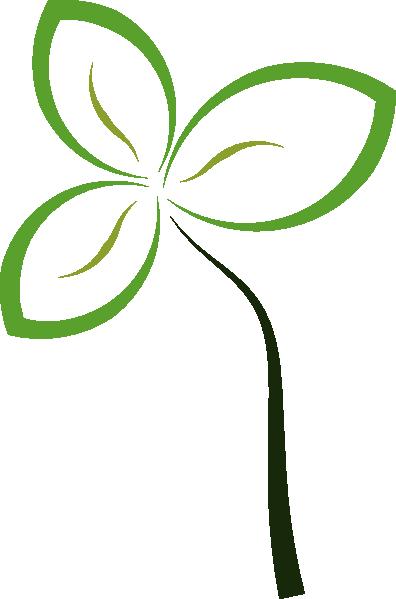 Abstract Flower Clip Art at Clker.com - vector clip art online ...