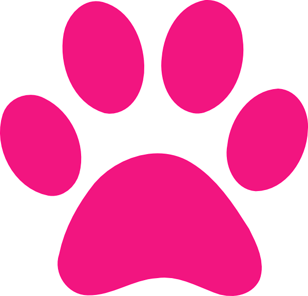 Pink Panther Paw Print...