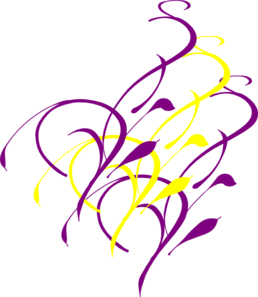 Purple Yellow Etc Clip Art