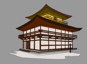 Japanese House Clip Art