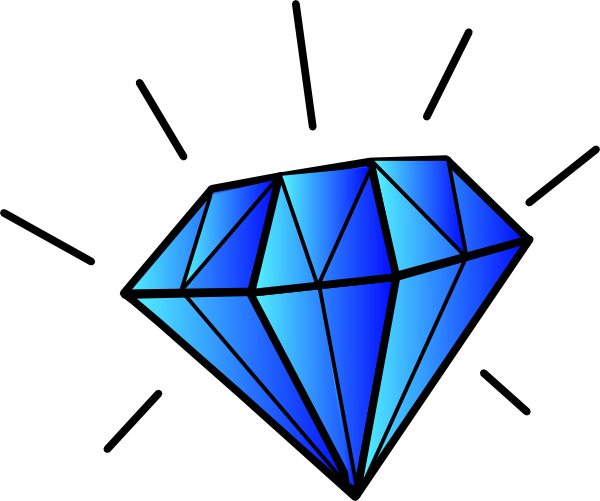 Diamond Clip Art at Clker.com - vector clip art online ...