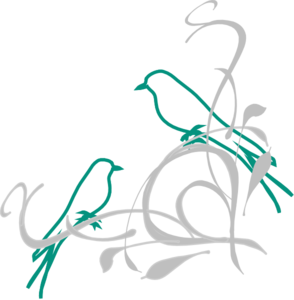 Birds On A Branch Clip Art