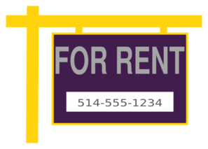 For Rent Clip Art