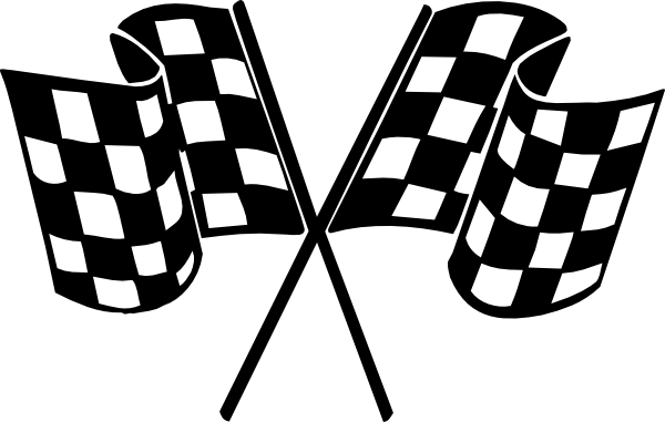 free race car flag clip art - photo #2