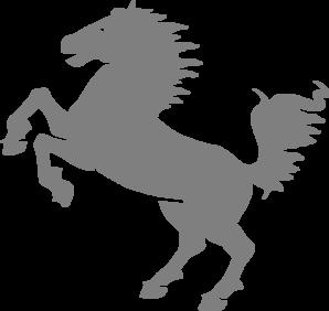 gray jumping horse clip art at clker com vector clip art online rh clker com horse jumping fence clipart jumping horse clip art images