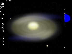 Spiral Galaxy clip art
