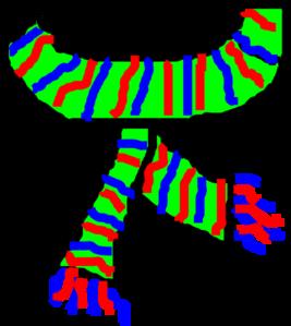 Scarf Clip Art at Clker.com - vector clip art online, royalty free ...