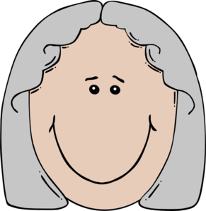 Old Woman Clip Art