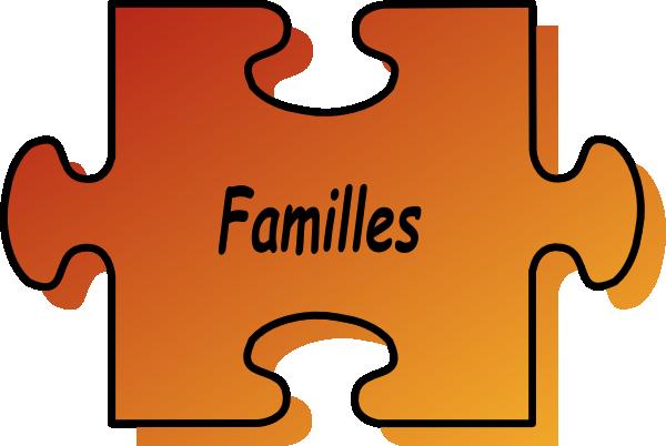 Clipart Famille puzzle familles clip art at clker - vector clip art online