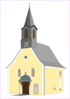 Village Church Clip Art