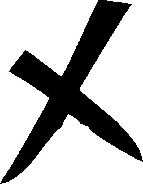 Black X Clip Art at Clker.com - vector clip art online ...