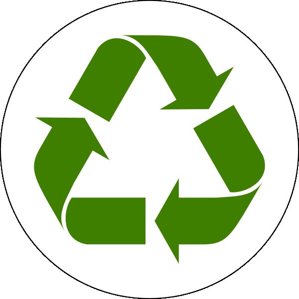 Green Recycled Symbol Clip Art at Clker.com - vector clip ...