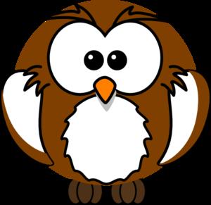 brown owl clip art at clker com vector clip art online royalty rh clker com Cute Owl Clip Art Arctic Rabbit Clip Art