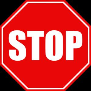 stop sign clip art at clker com vector clip art online royalty rh clker com stop signal vector stop signal vector