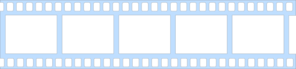 Blue Film Strip Clip Art