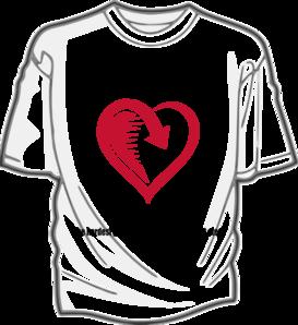 Heartwalk Clip Art at Clker.com - vector clip art online, royalty ...