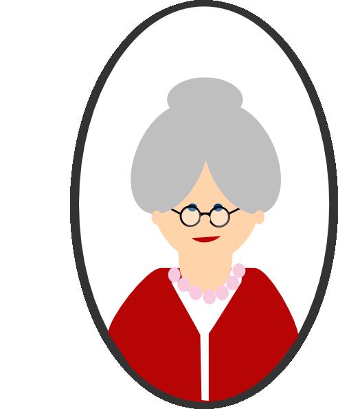 Granny Clip Art at Clker.com - vector clip art online ...