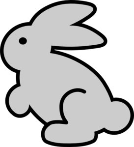 bunny clip art at clker com vector clip art online royalty free rh clker com bunny clipart black and white bunny clipart outline