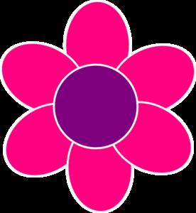 pink flower clip art at clker com vector clip art online royalty rh clker com girl clip art black and white girls clipart