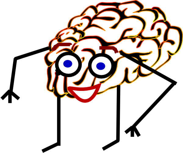 Brain Man Clip Art at Clker.com - vector clip art online, royalty free ...