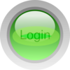 Login Green Button Clip Art