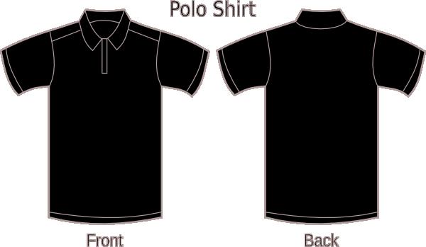 Black Polo Shirt Clip Art at Clker.com - vector clip art online ...