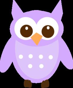 Purple Owl Clip Art at Clker.com - vector clip art online ...