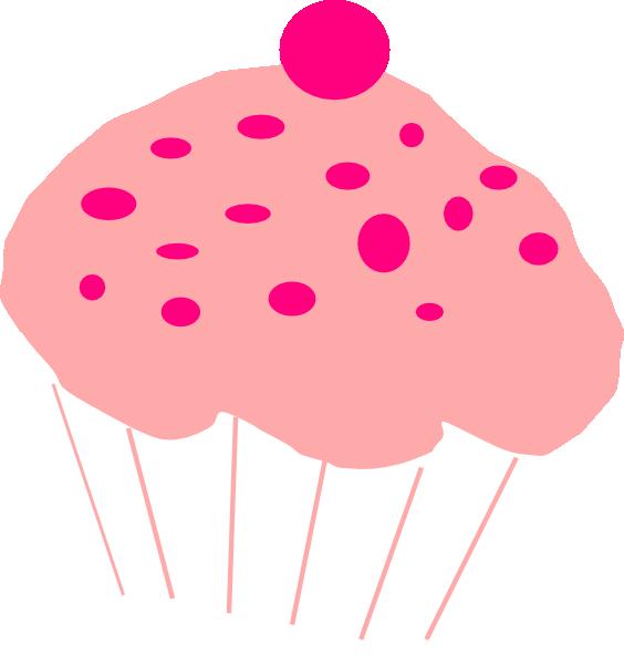 Pink Cupcake Clip Art at Clker.com - vector clip art ...