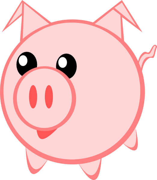 Pig Clip Art at Clker.com - vector clip art online, royalty free ...