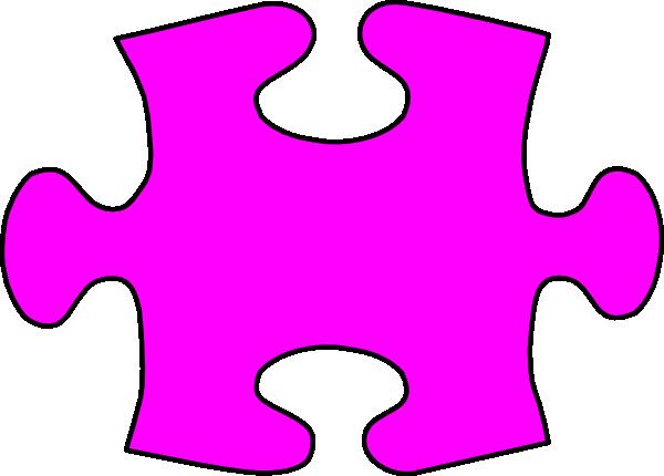 Lil Jigsaw Puzzle Piece Large Clip Art at Clker.com ...