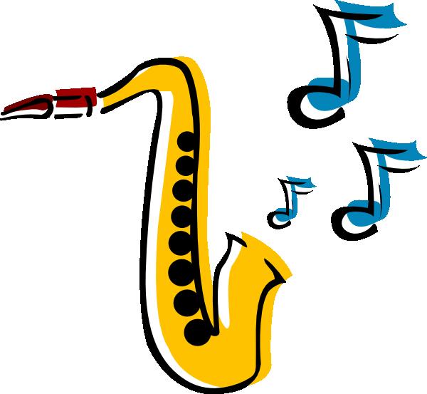 saxophone 5 clip art at clker com vector clip art online rh clker com saxophone clipart vector free clipart saxophone