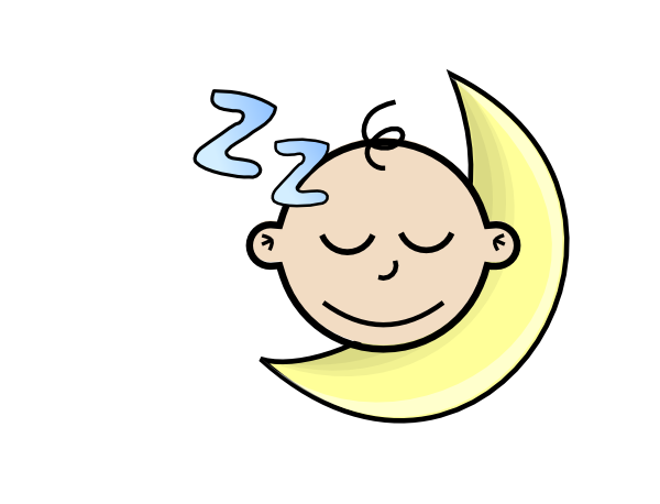 Sleeping Baby Clip Art at Clker.com - vector clip art ...