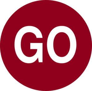 Red Go Button Clip Art