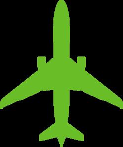 Green Plane Clip Art At Clker Com Vector Clip Art Online