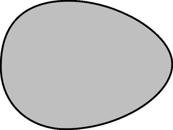 gray egg clip art at clkercom vector clip art online