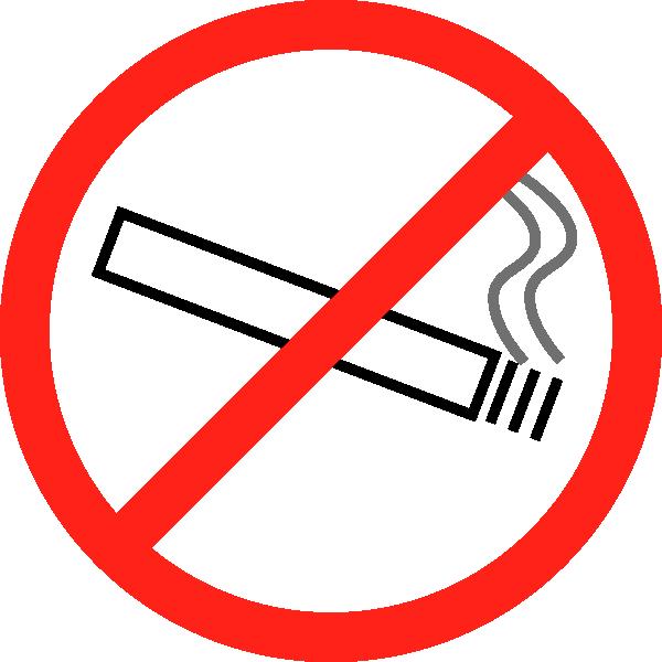 free clipart no smoking symbol - photo #8