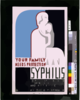 Your Family Needs Protection Against Syphilis Your Wife Or Husband And Children Should Be Examined And Treated If Necessary. Clip Art