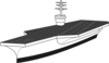 Aircraft Carrier Ship Clip Art