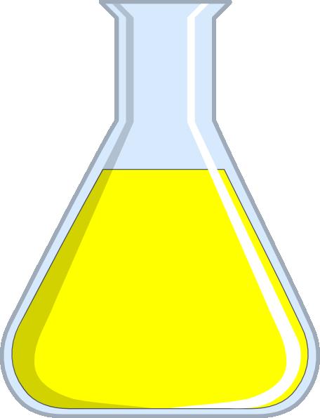 Chemistry Flash Yellow Clip Art at Clker.com - vector clip art online ...