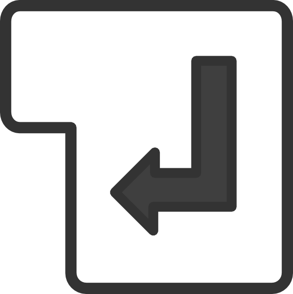 enter key clipart - photo #4