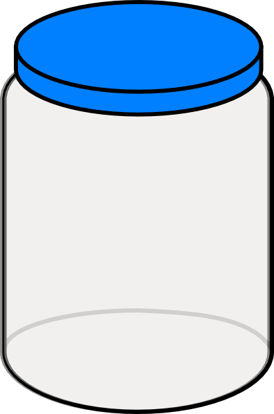 Plain Dream Jar 2 Clip Art at Clker.com - vector clip art online ...