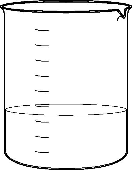White Beaker Clip Art at Clker.com - vector clip art ...