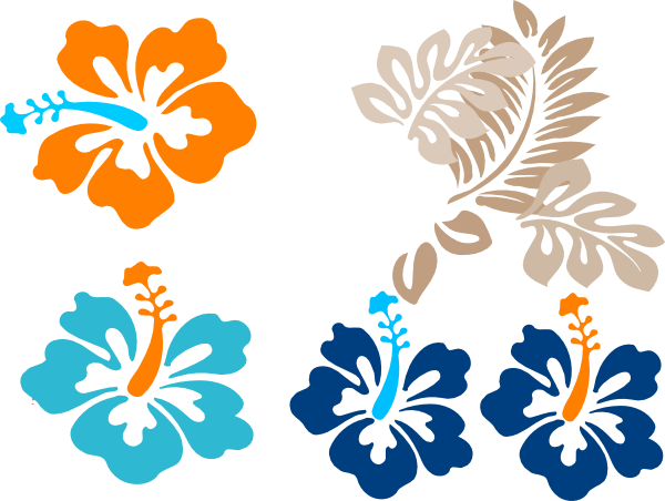 tropical flowers clip art at clker com vector clip art online rh clker com tropical flower clipart vector clipart tropical flowers animated