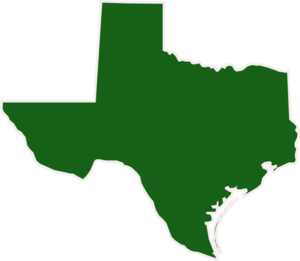 Dark Green Texas Clip Art