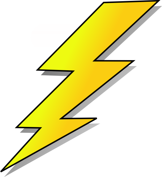 lightning cartoon animation lightening clip art vector