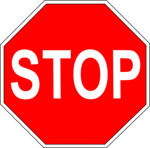 Stop Sign Project Clip Art